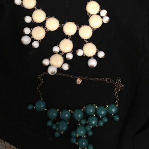 Lot of 2 Statement Necklaces